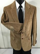 Woodmere Men COUNTRY CORDUROY Sport Coat Brown Jacket ELBOW PATCH Blazer 38 R