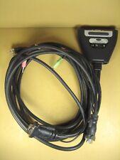 Belkin F1DLI02U 2-Port KVM Switch w/ Built in Cable  Type A USB, 2 x HD-15 Video