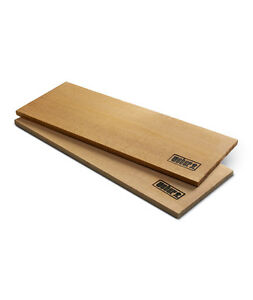 Weber 2-PIECE FIRESPICE CEDAR PLANKS Sustainable Use For Large Fillet, 17302