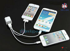 3 in 1 New Universal Multi USB Charger Charging Cable For Iphone, Samsung & HTC