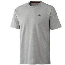 Magliette da uomo adidas grigio taglia S