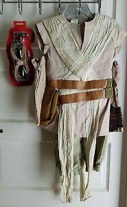 Star Wars The Force Awakens Rey Costume Kids Boys Halloween 9 10 Disney Store