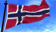 GIANT FLAG OF NORWAY NORWEGIAN NORDIC CROSS