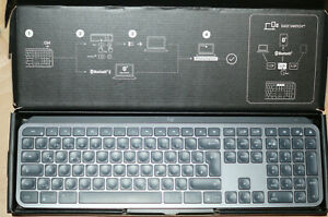Logitech MX Keys Bluetooth QWERTZ Tastatur - Graphit