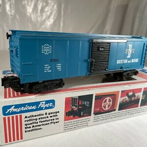 #24059 American Flyer S Scale B & M Boston and Maine Boxcar # 24059