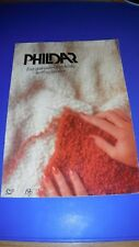 Phildar Womens Sweater 4 Designs Knitting Pattern S2