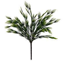 """17"""" Needle Grass Bush ~ Greenery Filler Silk Wedding Flowers Centerpieces Decor"""