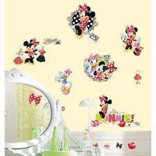 MINNIE MOUSE FASHIONISTA wall stickers wtih 21 GEMS 19 decals Disney scrapbook