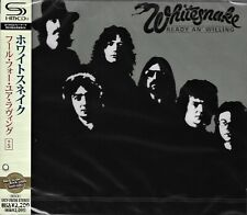 WHITESNAKE READY AN' WILLING 2011 RMST SHM CD+5  BRAND NEW/SEALED  GIFT QUALITY!