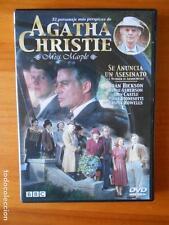 DVD AGATHA CHRISTIE - MISS MARPLE - SE ANUNCIA UN ASESINATO - COMO NUEVA (G3)