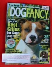 Rare ~ Staffordshire Bull Terrier Issue ~ Dog Fancy Magazine ~ September 2009