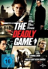 THE DEADLY GAME  DVD NEU GEORGE ISAAC,RUFUS SEWELL,MARK BADHAM, TOBY STEVENS