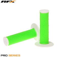 Rfx de doble densidad Grips soft-mid compuesto Verde Blanco Motocross Enduro
