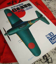 IMPERIAL JAPANESE NAVY AIRCRAFT Vintage Koku-Fan Illustrated No. 83