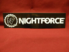 NIGHTFORCE PRECISION OPTICS TACTICAL GEAR HUNTING GUN STICKER DECAL
