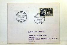 Yt 1015 SAINTE CLAIRE DEVILLE ALUMINIUM      1955  FRANCE PREMIER JOUR FDC
