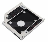 "2nd SATA Hard Drive HDD SSD Unibody Caddy for MacBook Pro 13"" 15"" 17"" swap DVD"