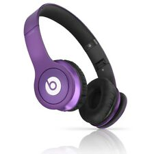 Beats by Dr. Dre Solo HD On-Ear Wired Headphones Purple Original