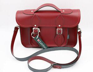 Zatchel Damen Leder Tasche   Rot   ca. B 29cm H 21cm
