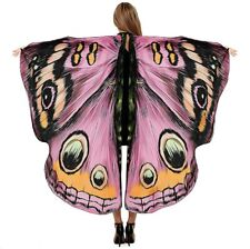 "Sevendec Butterfly Wings Womens Halloween Costumes Fairy, B- Pink, Size 66""X53"""