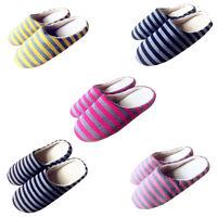 Winter Warm Slippers Women Men Soft Indoor Floor Shoes Non-slip House Shoes