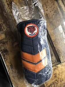 Vintage 1980s NFL Chicago Bears Mittens Size XL Sewn Patch Water Resistant NEW