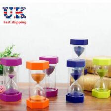 Hexagon Anti-fall Large Sand Egg Hourglass Timer 5//10//15//20//30 Min Muiti-color