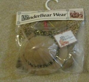 Fluffy VANDERBEAR OUT OF AFRICA  SAFARI OUTFIT NEW  NABCO