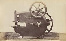 1873 ORIGINAL photo of a Punching Machine, William Sellers, Philadelphia