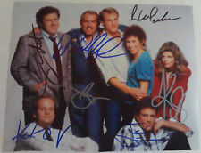 CHEERS TV Show CAST Signed Photograph AUTOGRAPHED 7x Ted Danson Kelsey Grammer +