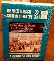 Vintage 8 Track Tape Orchestre de Paris La Marseillaise & Other French Favorites