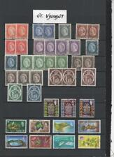 ST. VINCENT QE2 COLLECTION ON 9  PAGES