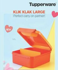 Tupperware Klik Klak Large 1.2 Liter-Kitchen Food Storage Container- 1 Pc.- NEW!