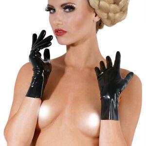 Women's Sexy Latex Underwear The Latex Gloves
