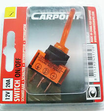 CARPOINT Interruptor On / of NARANJA 12v 20a 0810661 NARANJA 08.106.61