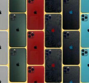 iphone 12 11 X Pro Max Mini 7 Skin Wrap Folie Rückseite Xr 3M Case Schutzfolie