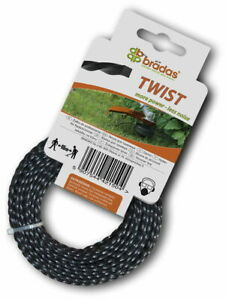 Twist Strong Strimmer Line 2mm X 15M For Petrol Strimmers Strimmer Wire Cord