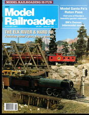 Model Railroader August 1991 Elk River Haro RR Santa Fe BN Florida Garden RR