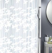 Spirella Pareo Blanco Cortina de ducha 180 x 200 cm. 100 % PEVA artículos Marca