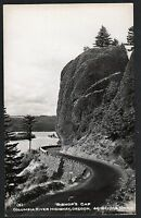 Postcard RPPC Bishop's Cap Columbia River Highway Oregon