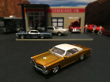 1:64 Hot Wheels Limited Edition 1966 66 Pontiac GTO Gold with White Top