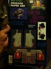 1994 Mighty Morphin Power Rangers -Tor The Shuttle Zord (Origami Paper Art) New!