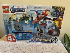 New Lego 76152 - Avengers Wrath Of Loki - 4+ - 223 Pcs - Factory Sealed