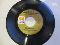 "JOE COCKER SHE CAME IN THROUGH THE BATHROOM WINDOW 45 RPM 7"" RECORD Strong VG"