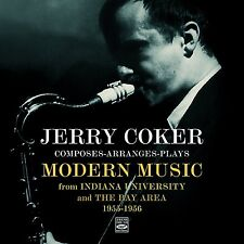 JERRY COKER COMPOSES-ARRANGES-PLAYS MODERN MUSIC (2 LP ON 1 CD) + BONUS TRACKS