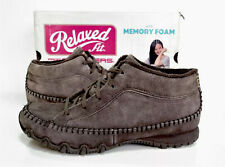 Ladies SKECHERS Relaxed Fit brown suede Leather Ankle Boots Size 5.5 Exc Cond