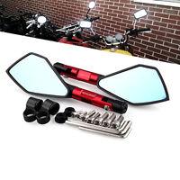 Universal 8mm/10mm CNC Motorcycle Rearview Rear Side Mirrors Street Sports Bike