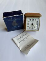 Vintage Seth Thomas Travel Alarm Winding Clock, Travatour 3805