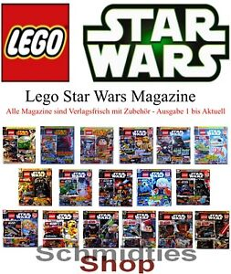 LEGO Star Wars Magazine Ausgabe inkl. Zubehör - Wählen sie ihre Ausgabe!