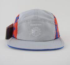 REEBOK CLASSIC HEXALITE 5 FIVE PANEL HAT CAP BNWT OS GREY RUNNING TRAINING NIKE